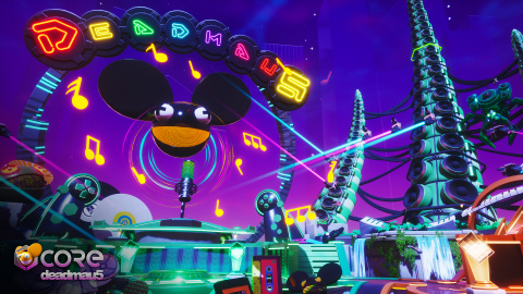 Deadmau5 et Core vous invitent à un concert virtuel
