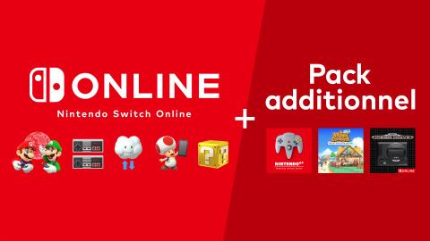 Nintendo Switch Online + Pack Additionnel : Une nouvelle offre qui vaut le coup ?