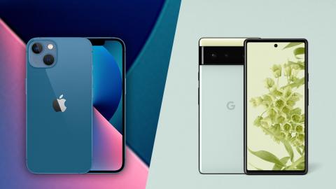 Pixel 6 vs iPhone 13 : le nouveau smartphone de Google tient-il la route?