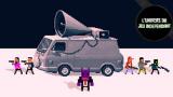 L'univers du jeu indépendant : Not A Hero, par les créateurs de OlliOlli