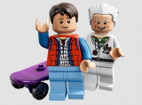Doc Brown joue à LEGO Dimensions
