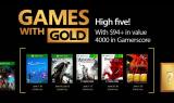 Xbox Live Games with Gold : Les jeux gratuits du mois de juin 2017
