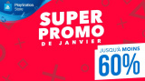 PS Store : Jusqu'à -60% avec la super promo de janvier !