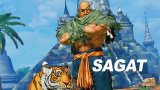 Du gameplay pour Sagat dans Street Fighter V