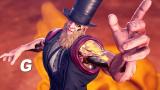G montre son style dans Street Fighter V