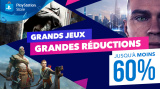 PS Store : De grands jeux impliquent de grandes promotions