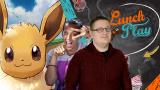 Lunch Play : Pokémon Let's Go, Pikachu / Evoli, Evoli en action