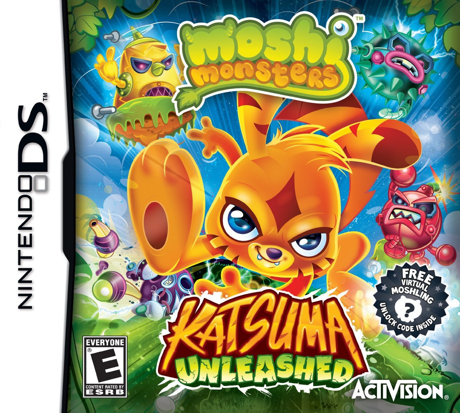 Moshi Monsters : Katsuma Unleashed