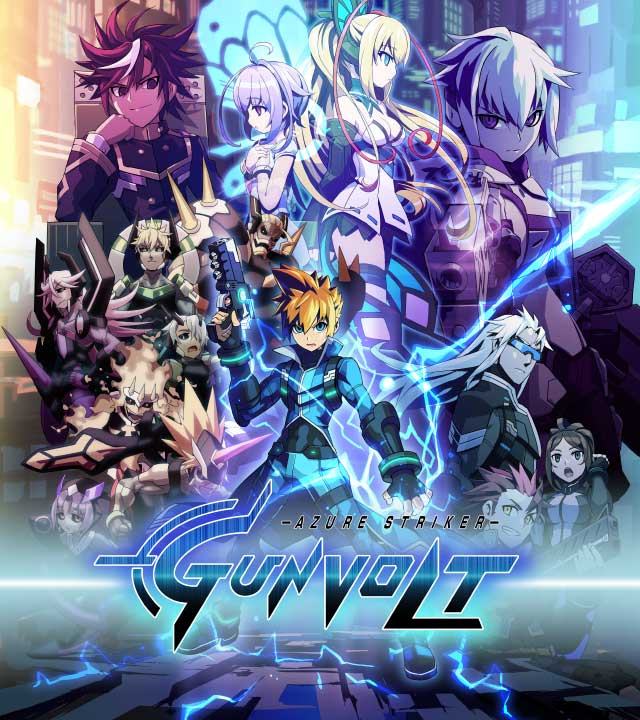 Azure Striker Gunvolt [MULTI] [3DS]