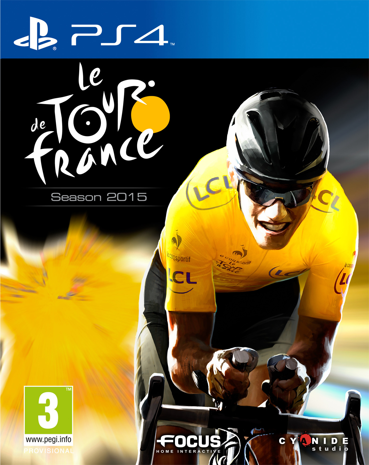 tour de france 2015 sur playstation 4. Black Bedroom Furniture Sets. Home Design Ideas