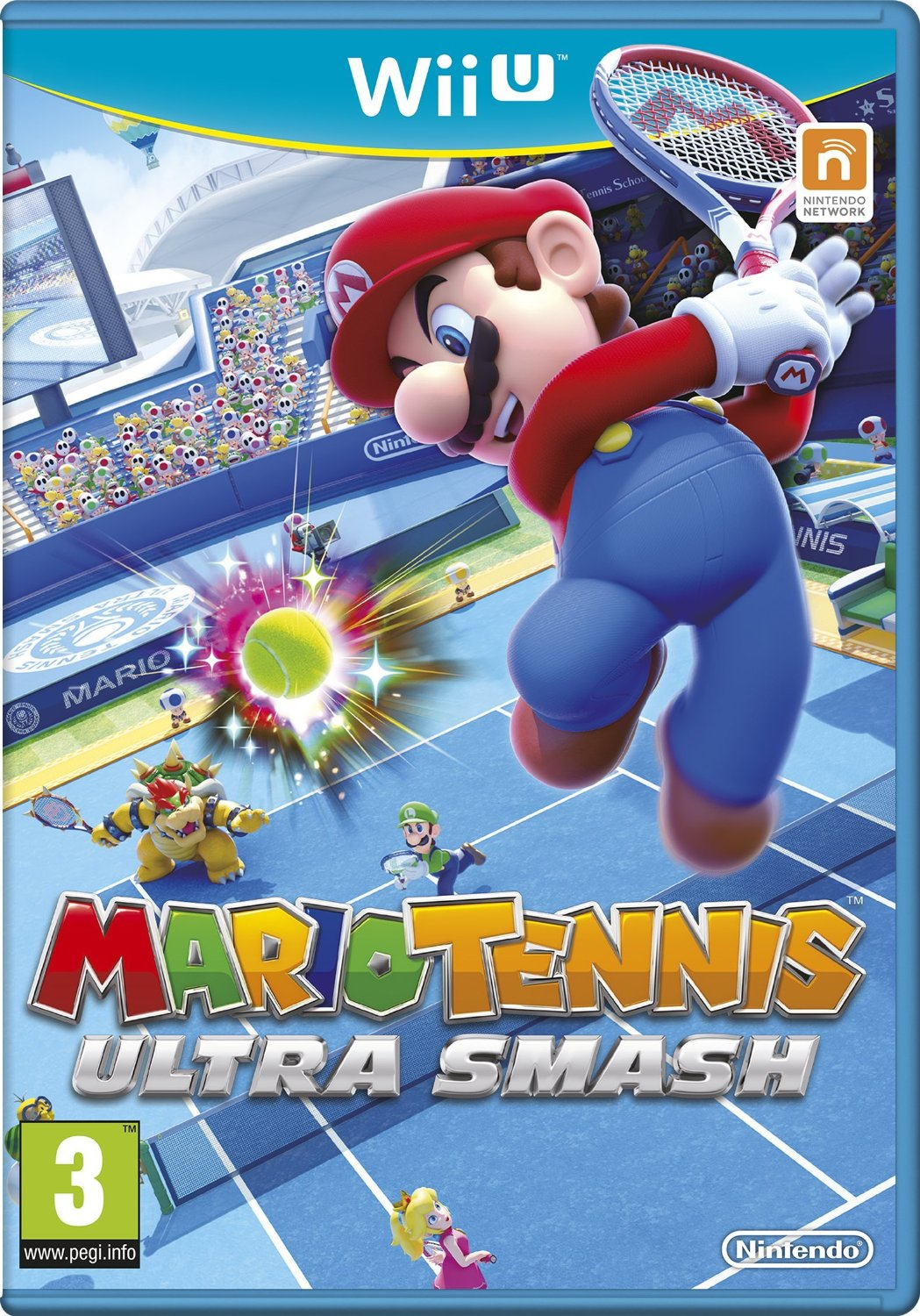 mario tennis ultra smash sur wii u. Black Bedroom Furniture Sets. Home Design Ideas