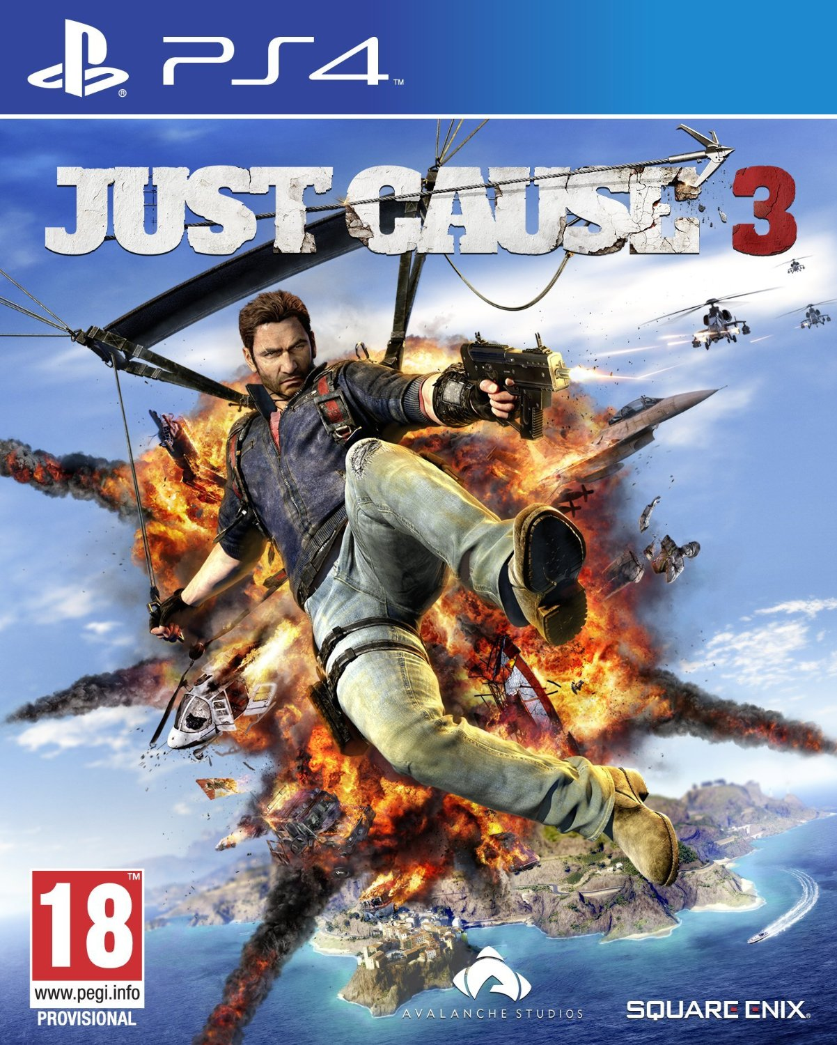 just cause 3 sur playstation 4. Black Bedroom Furniture Sets. Home Design Ideas