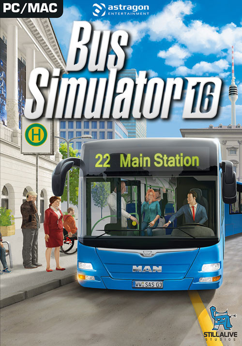 bus simulator 2016 sur pc. Black Bedroom Furniture Sets. Home Design Ideas