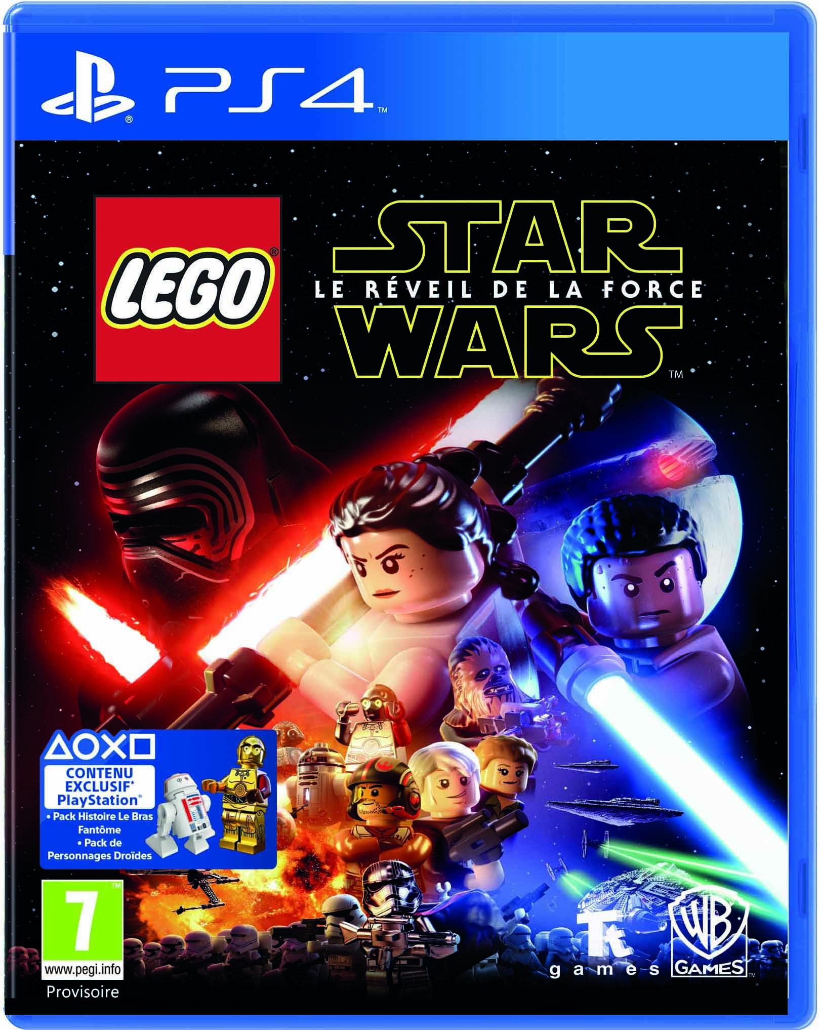 lego star wars le r veil de la force sur playstation 4. Black Bedroom Furniture Sets. Home Design Ideas