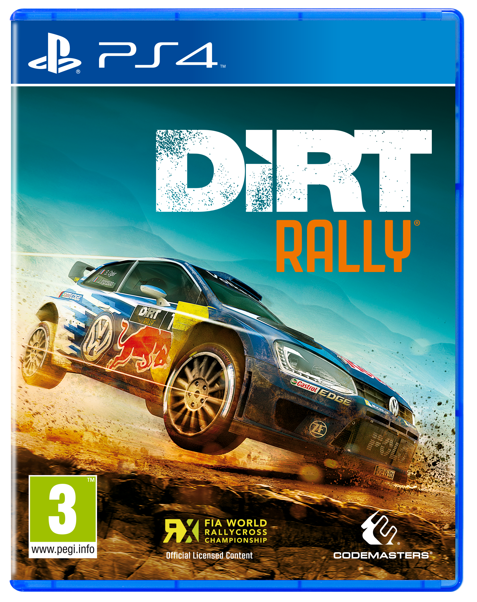 dirt rally sur playstation 4. Black Bedroom Furniture Sets. Home Design Ideas