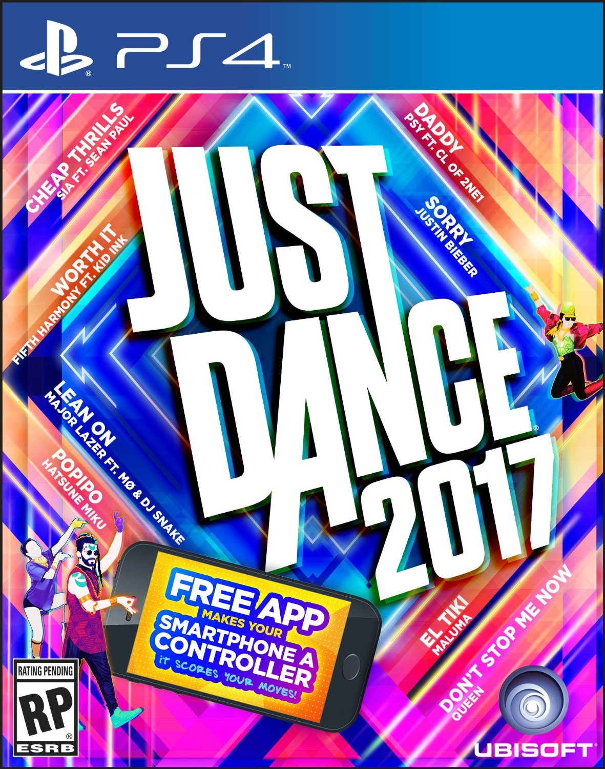 just dance 2017 sur playstation 4. Black Bedroom Furniture Sets. Home Design Ideas
