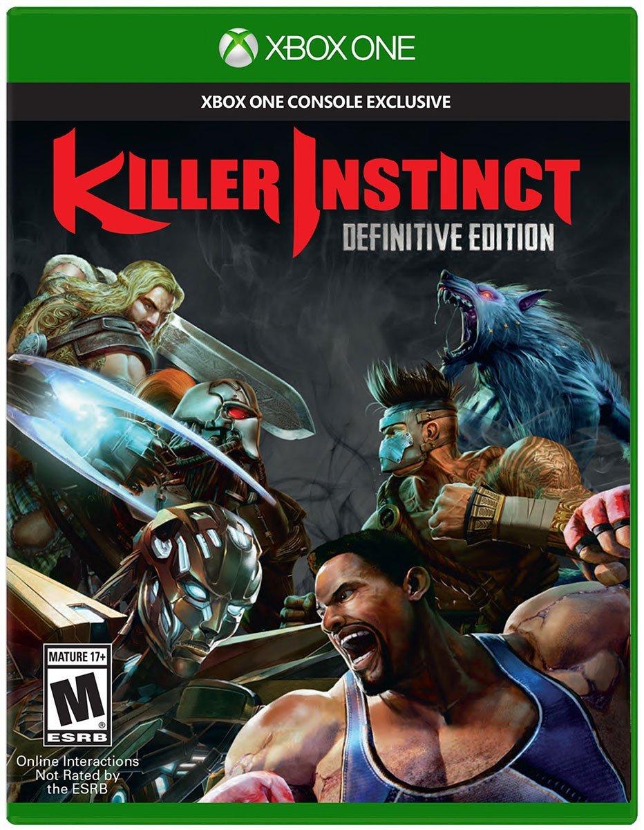 """Résultat de recherche d'images pour """"killer instinct definitive edition xbox one cover"""""""