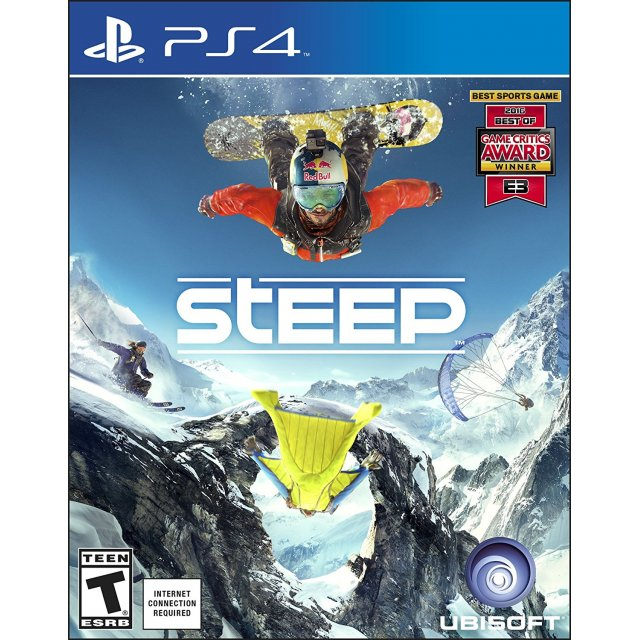 steep sur playstation 4. Black Bedroom Furniture Sets. Home Design Ideas