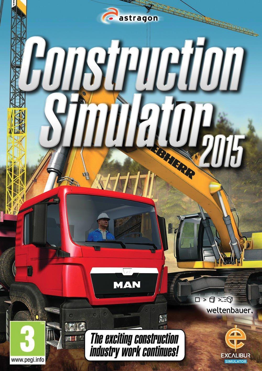 construction simulator 2015 sur pc. Black Bedroom Furniture Sets. Home Design Ideas