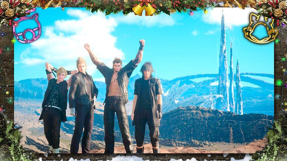 Final Fantasy célèbre fêtes d'année