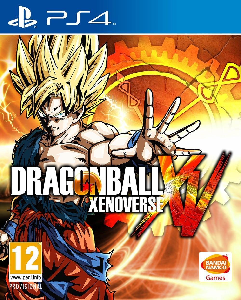 dragon ball xenoverse sur playstation 4. Black Bedroom Furniture Sets. Home Design Ideas