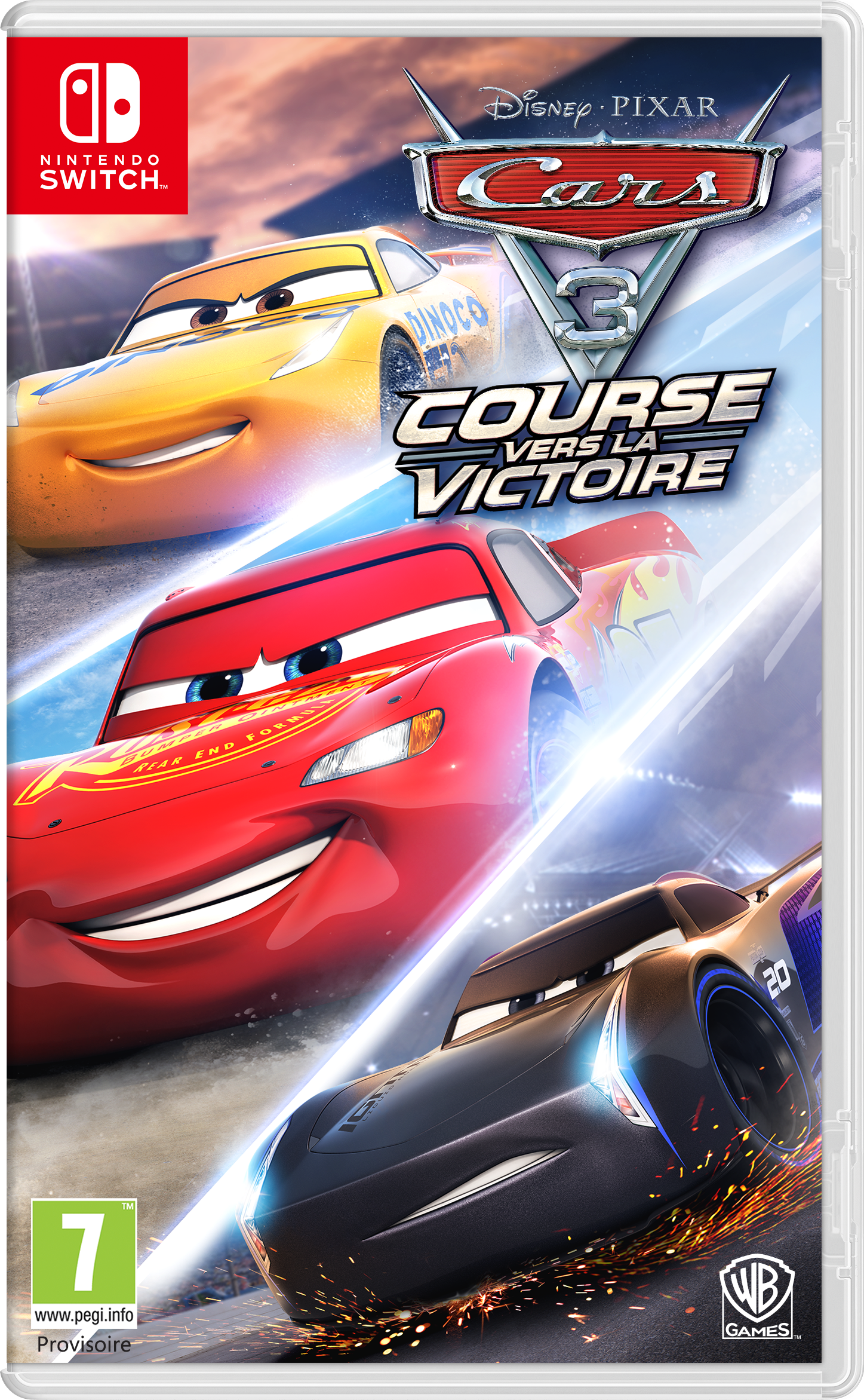 cars 3 course vers la victoire sur nintendo switch. Black Bedroom Furniture Sets. Home Design Ideas