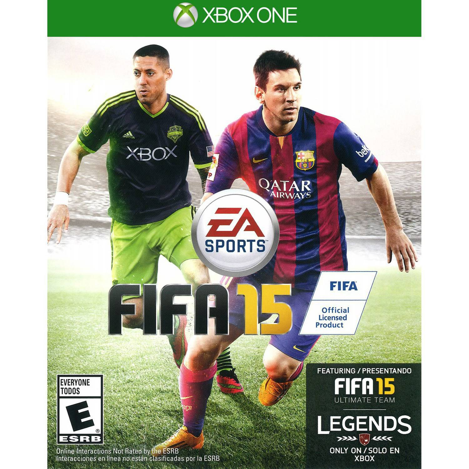 fifa 15 sur xbox one. Black Bedroom Furniture Sets. Home Design Ideas