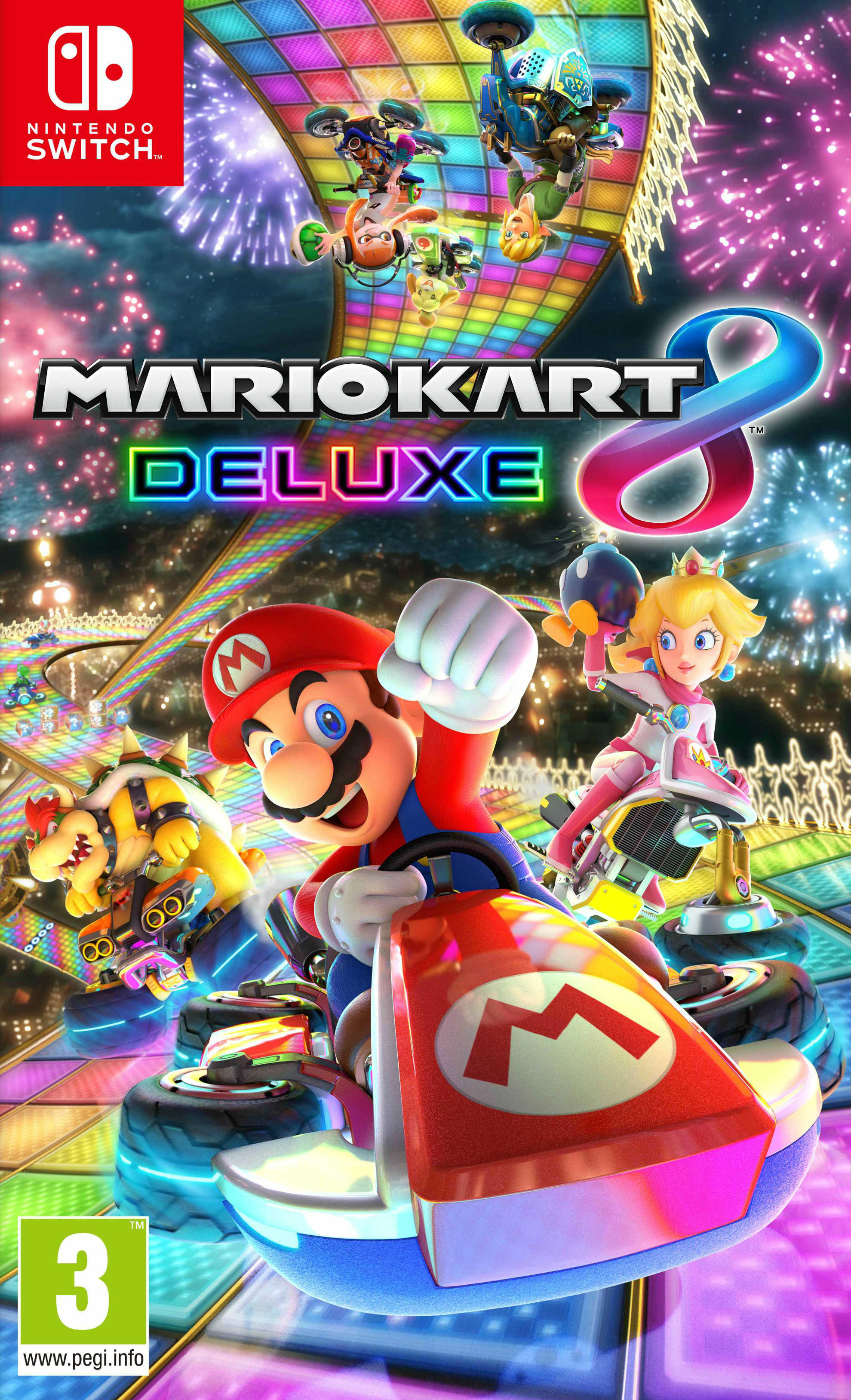 mario kart 8 deluxe sur nintendo switch. Black Bedroom Furniture Sets. Home Design Ideas
