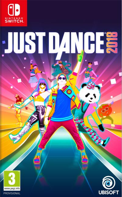 just dance 2018 sur nintendo switch. Black Bedroom Furniture Sets. Home Design Ideas