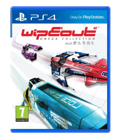 wipeout omega collection sur playstation 4. Black Bedroom Furniture Sets. Home Design Ideas