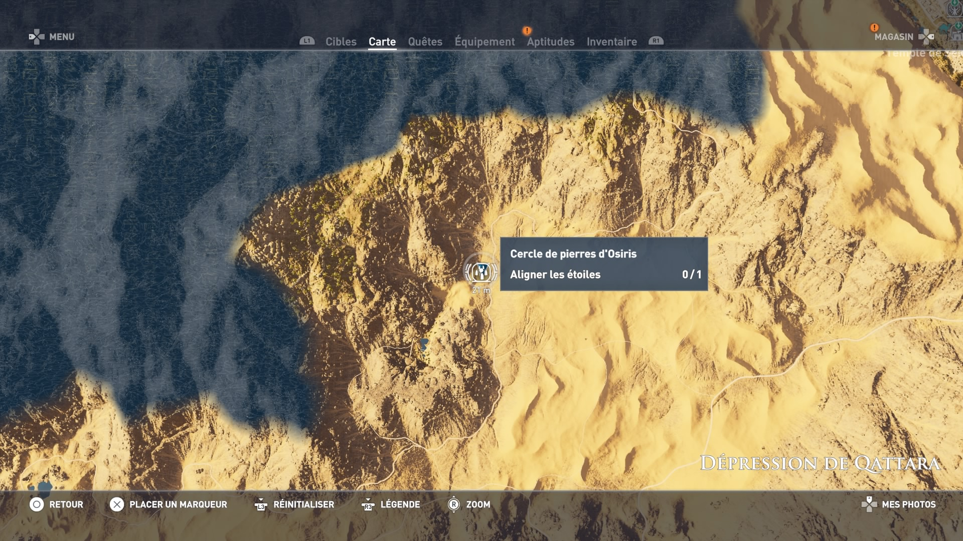 Assassin's Creed Origins - Soluce Emplacement cercles de pierres