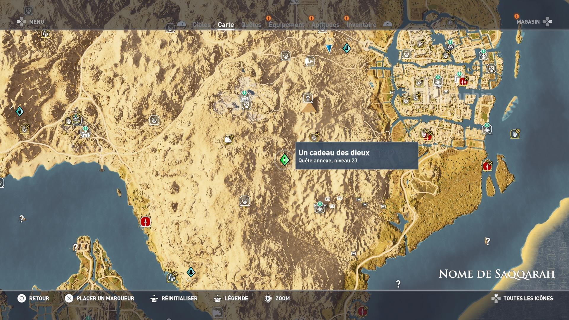 1513778478 7901 capture d ecran - [Soluce] Assassin's Creed Origins - Mission Final Fantasy 15