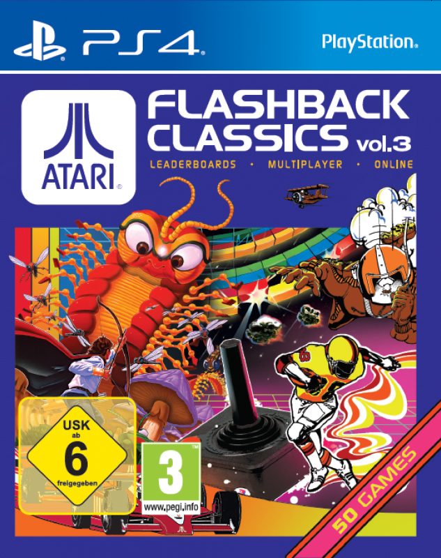 atari flashback classics volume 3 sur playstation 4. Black Bedroom Furniture Sets. Home Design Ideas