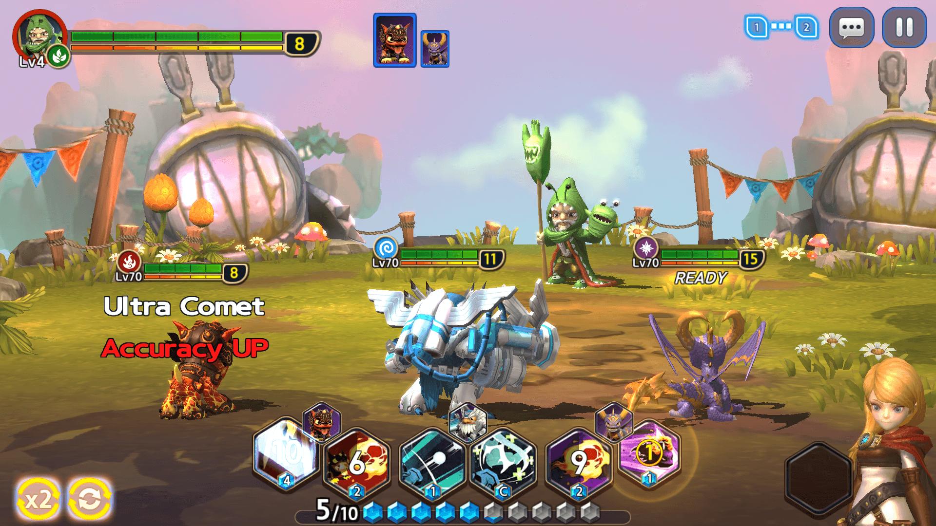 Skylanders : Ring of Heroes (Android) 1539782390-4162-capture-d-ecran