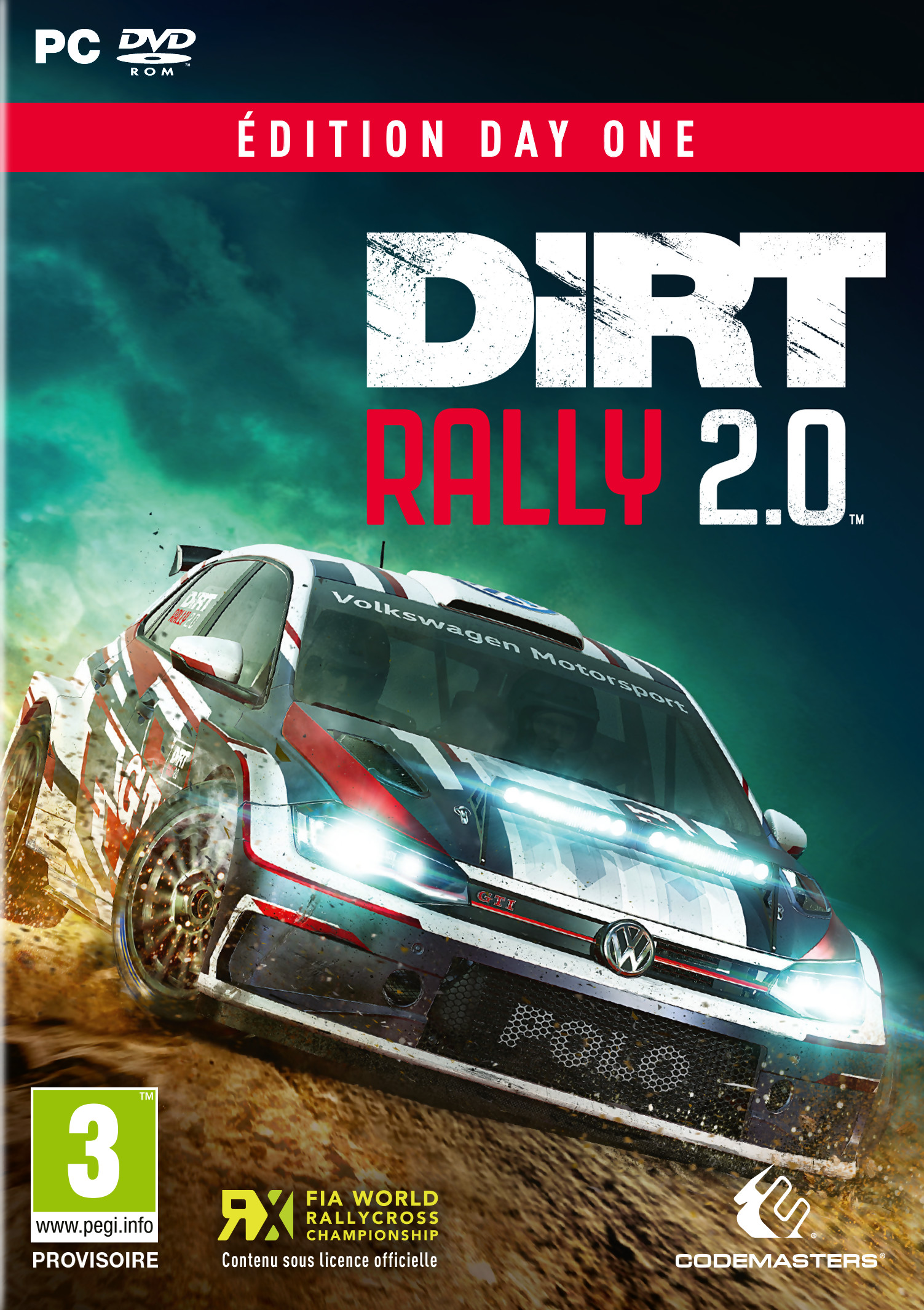 dirt rally 2 0 sur pc. Black Bedroom Furniture Sets. Home Design Ideas