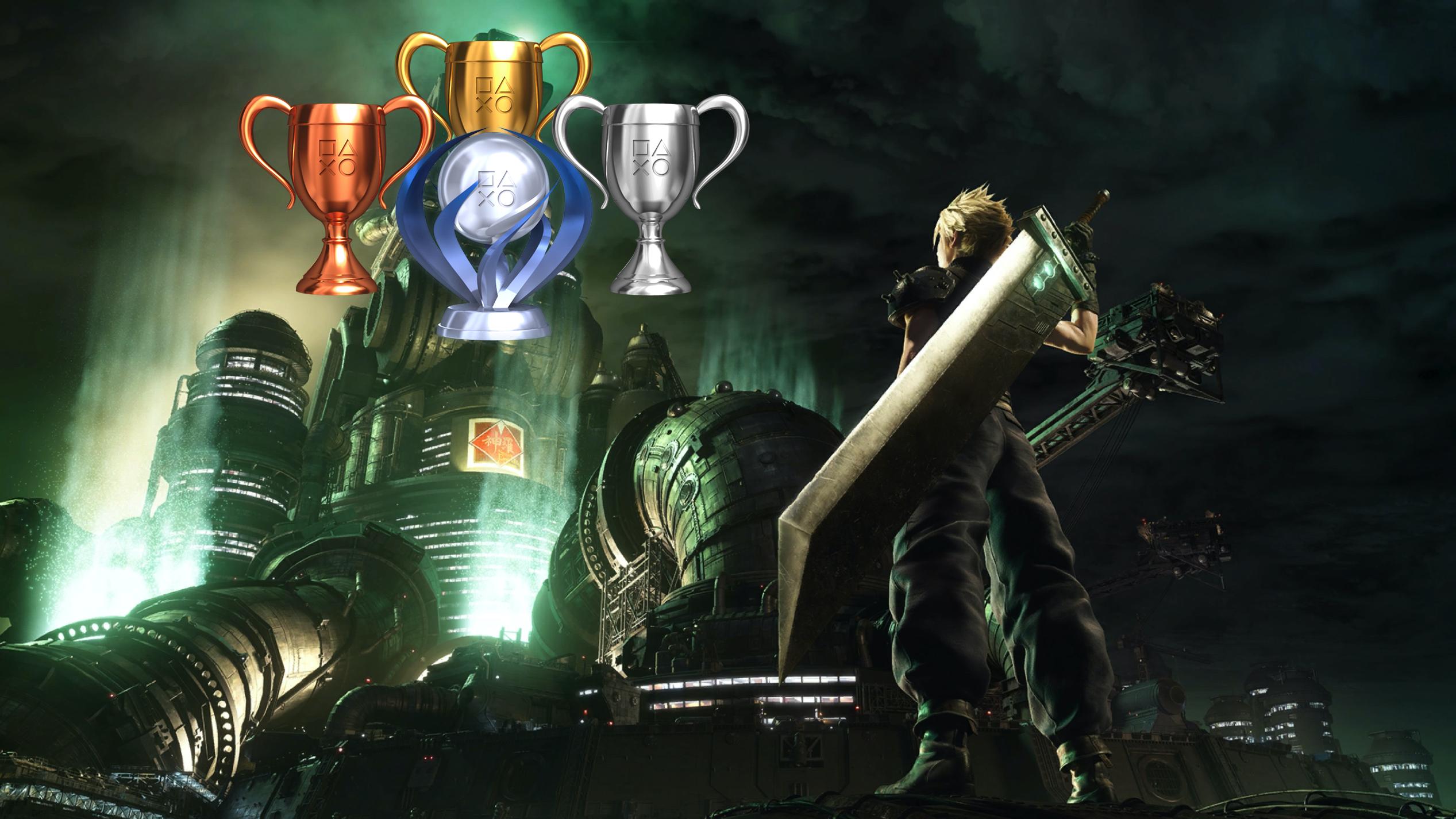 Final Fantasy 7 Remake : 54 trophées pour le retour du mythe