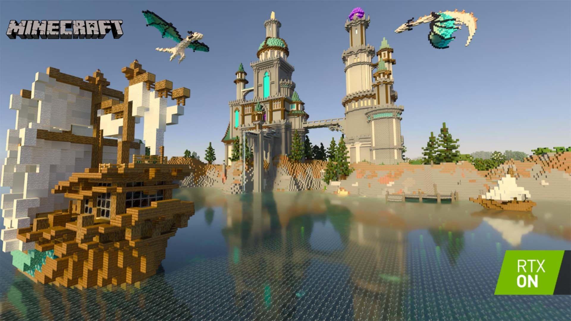 Minecraft : découverte du mode RTX