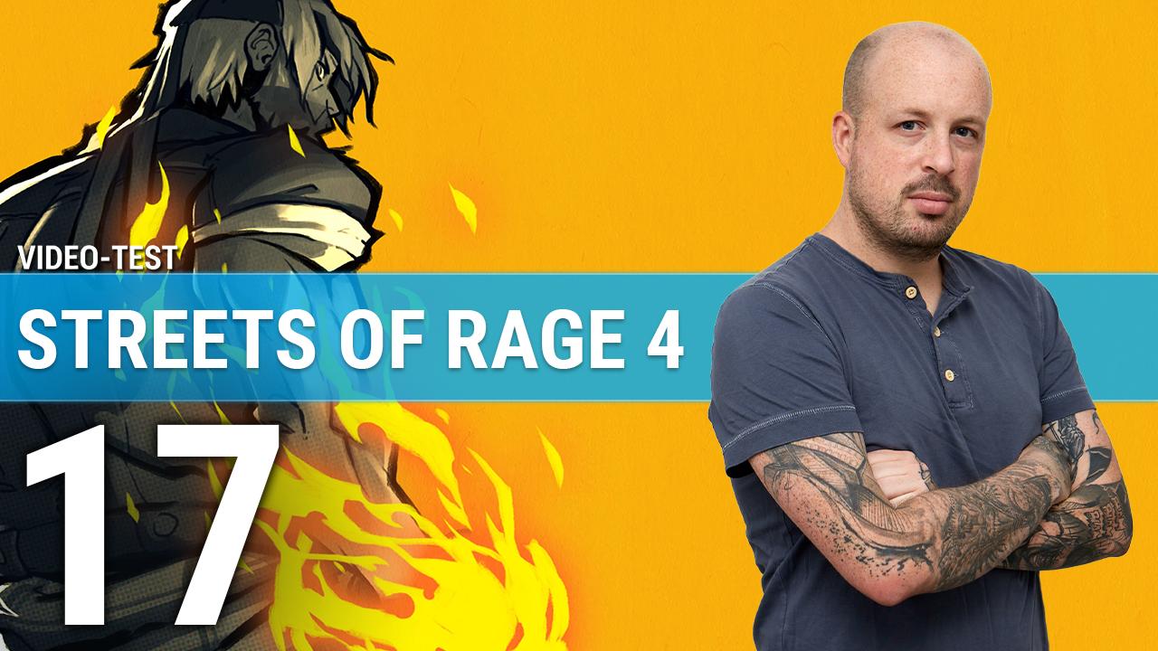 Streets of Rage 4 : 3 minutes pour nettoyer la ville