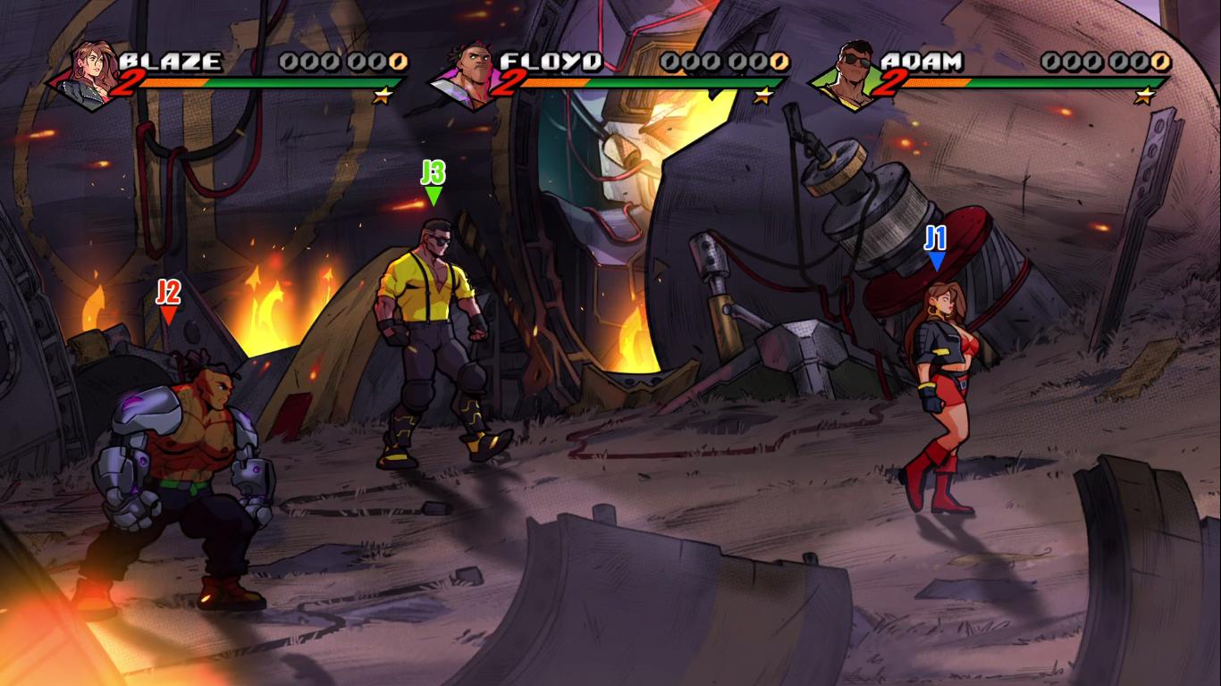 Streets of Rage 4 : Et à la fin, ce sont les gentils qui gagnent en trio (spoiler)