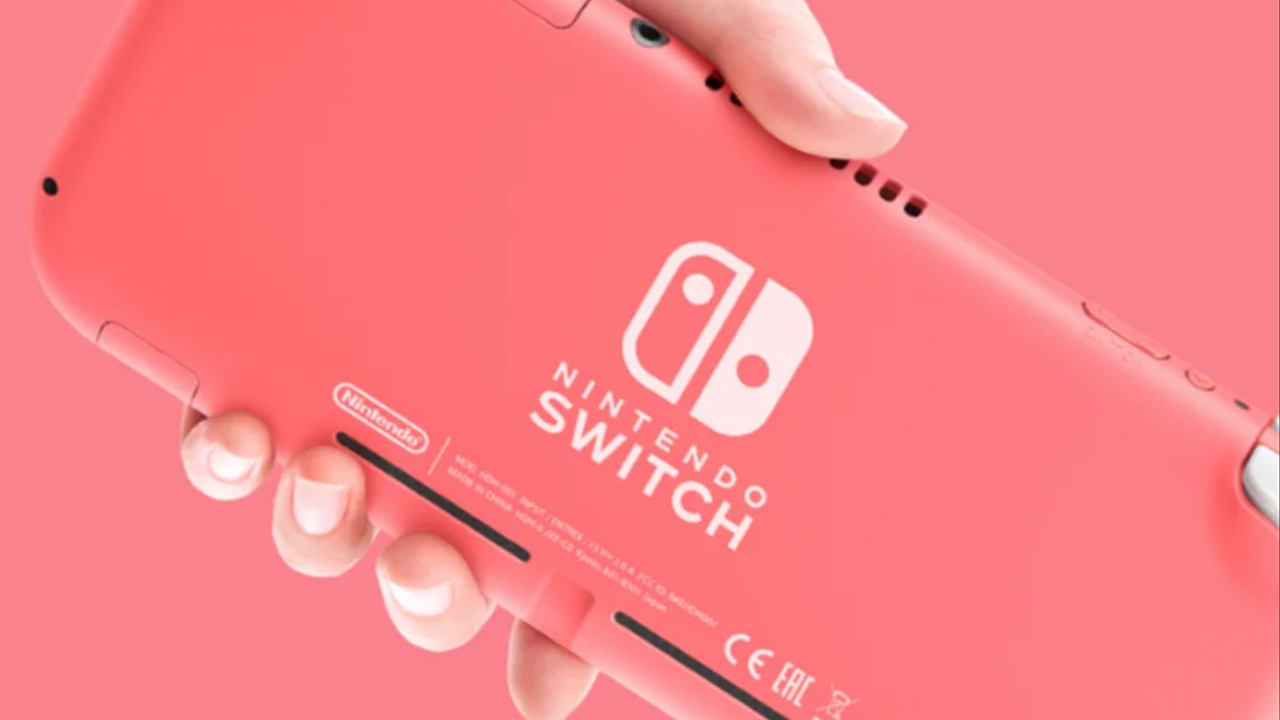 Nintendo : La Switch Lite se décline en couleur corail dès aujourd'hui