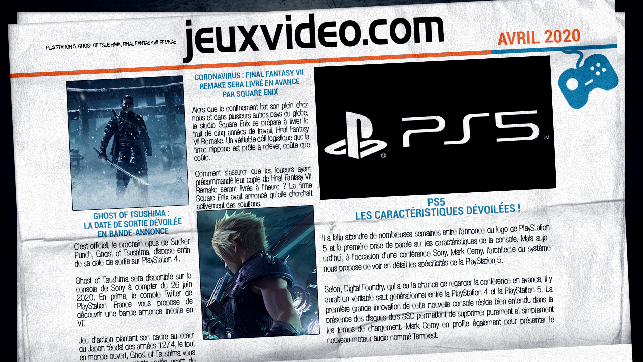 Les infos qu'il ne fallait pas manquer le 27 avril : The Last of Us Part II, Respawn Entertainment, Ghost of Tsushima...