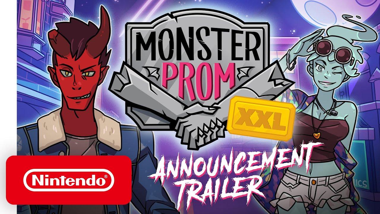Monster Prom : XXL - Une version enrichie du simulateur de dating pour la Nintendo Switch