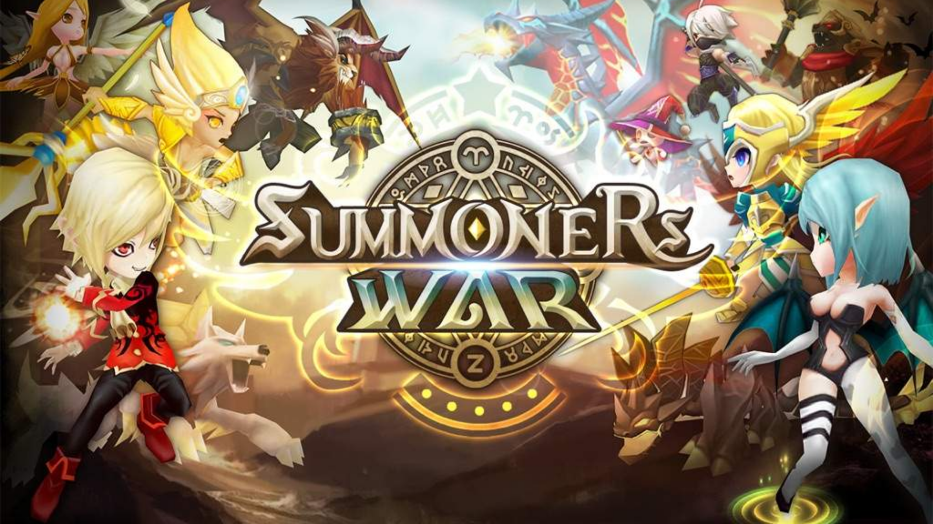 Summoners War: Sky Arena - Street Fighter V: Champion Edition Collaboration Announced