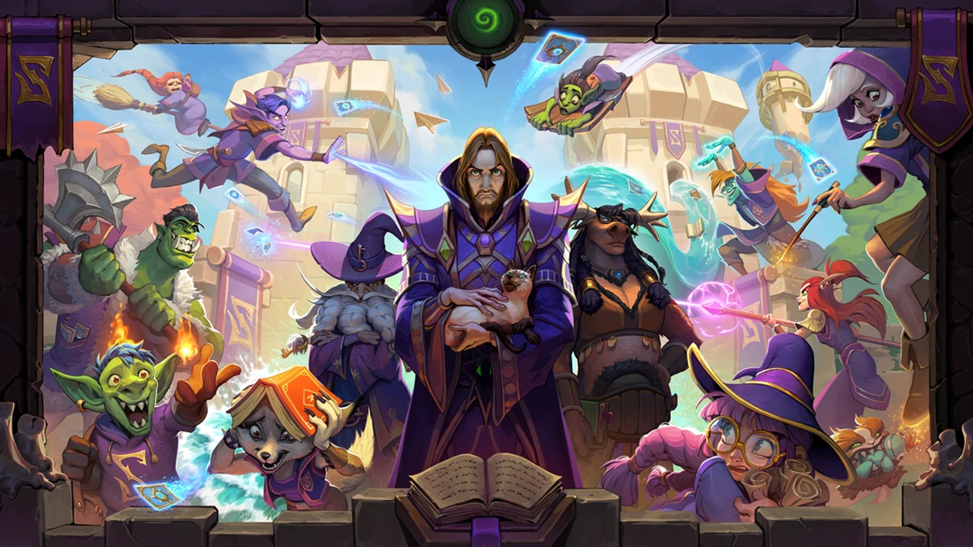 Hearthstone: The Forbidden Library opens soon, new events coming soon