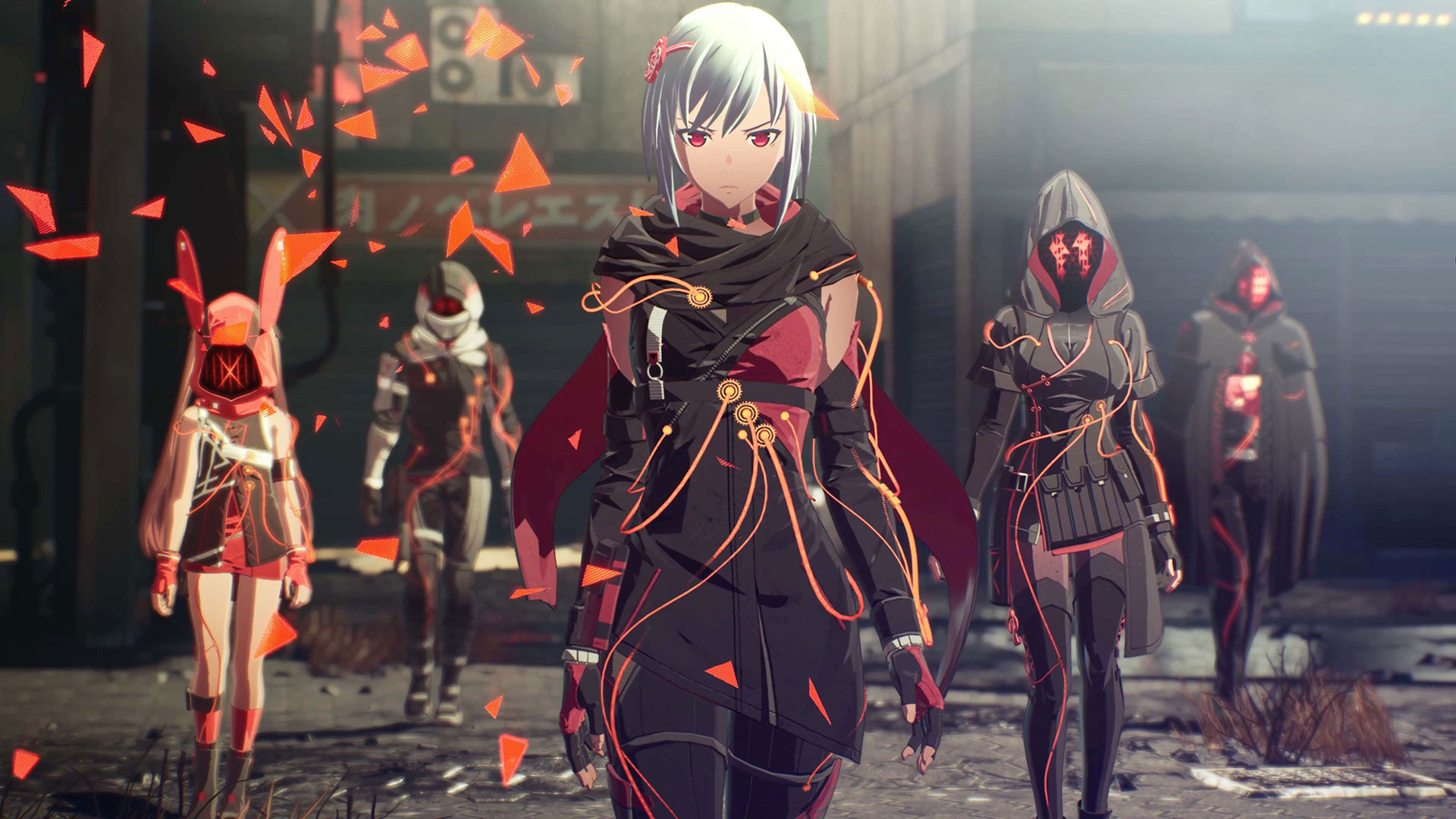 TGS: Scarlet Nexus Introduces New Playable Heroine and Three Other Characters