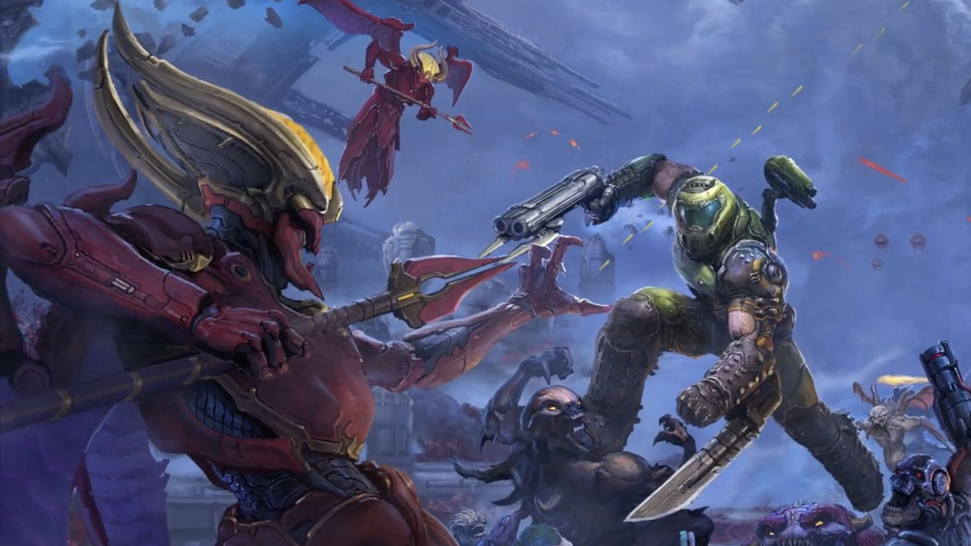 DOOM Eternal: The Ancient Gods - New Composers Share A Taste Of The Soundtrack