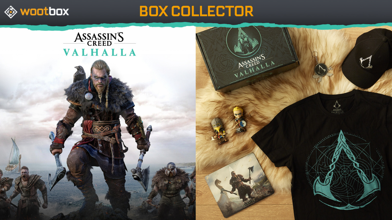 Wootbox is releasing the big game with the release of Assassin's Creed Valhalla!