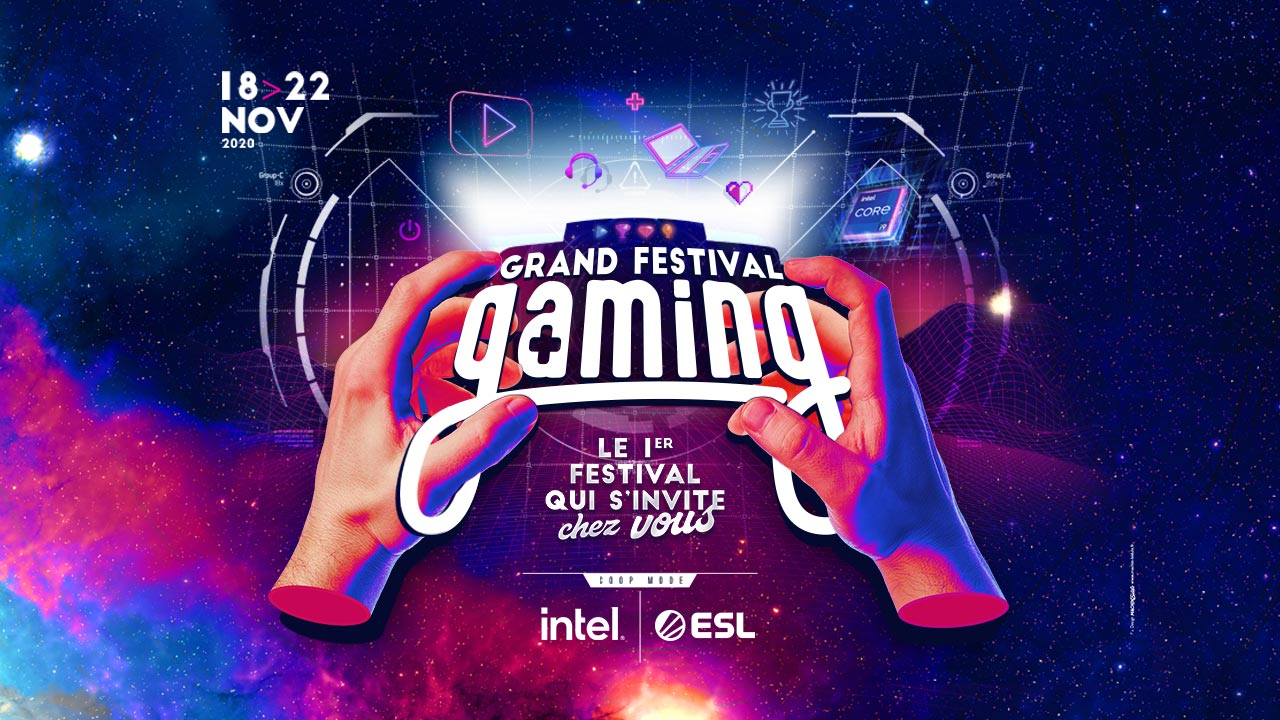 Grand Festival Gaming: discover the full program of the event!