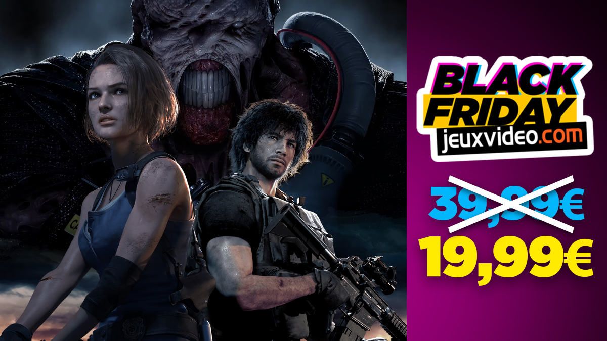 Black Friday: Resident Evil 3 on PS4 at half price at Auchan