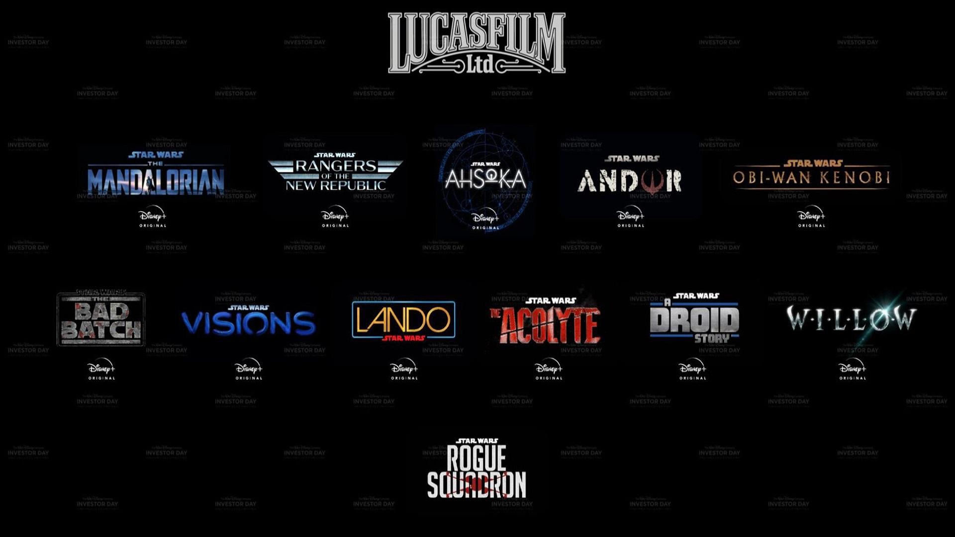 Star Wars: Rogue Squadron, Kenobi, Ahsoka ... what to remember from Disney Investor Day 2020